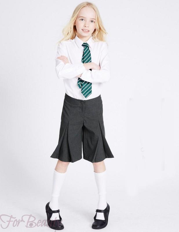 Школьные брюки для девочек 2017-2018