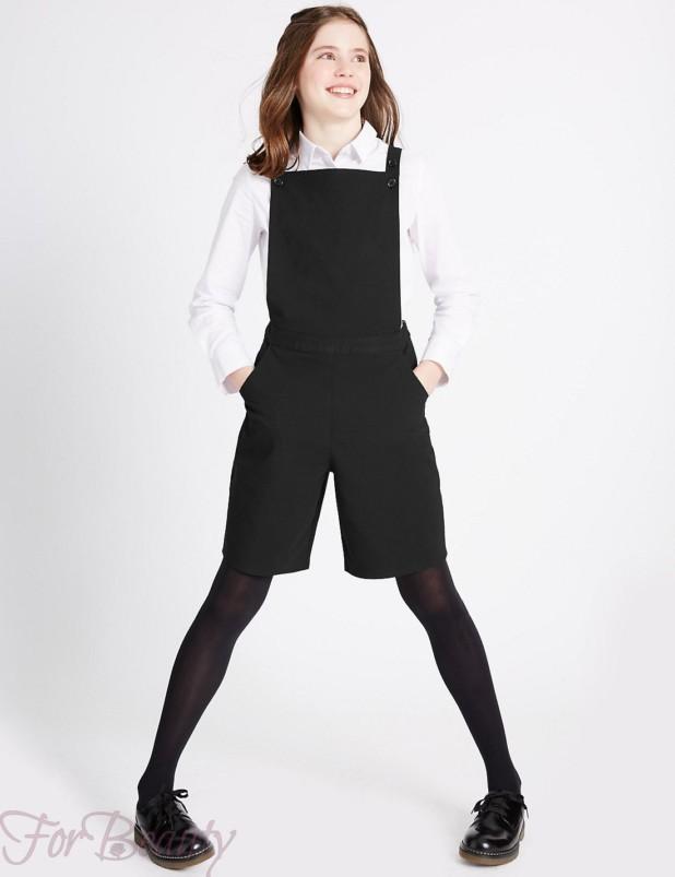 модные школьные брюки для девочек 2017-2018