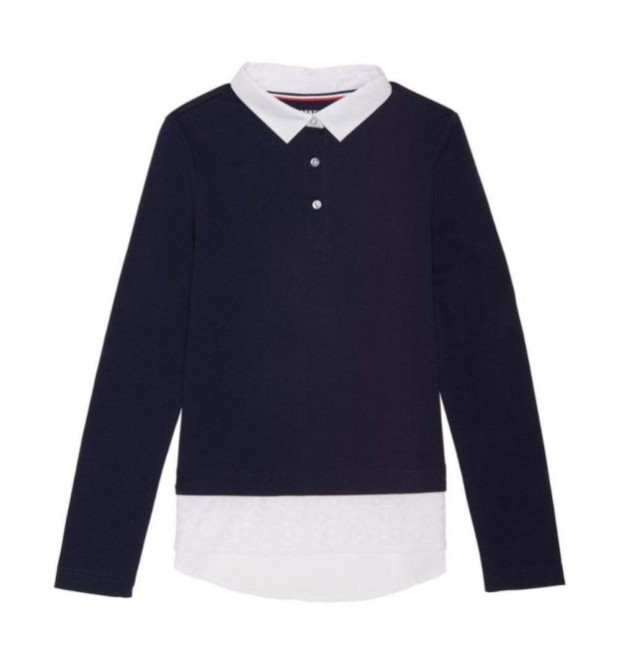 Школьные блузки для девочек 2017-2018