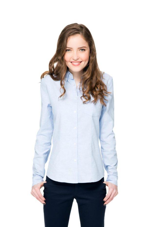 Школьные блузки для девочек 2017-2018 фото