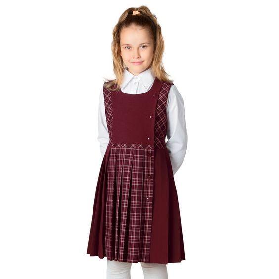 модная школьная форма для младших классов 2018 2019