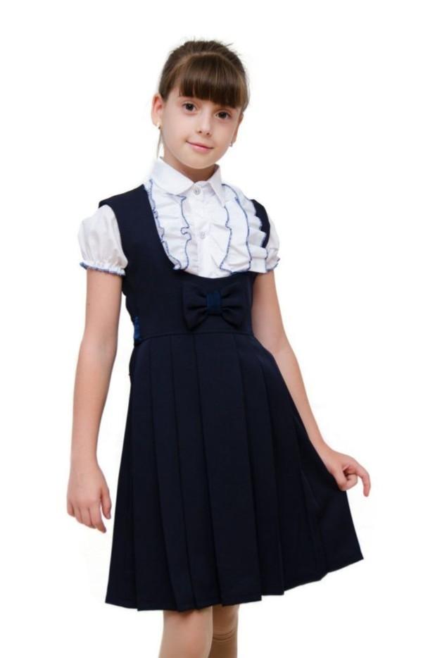 Школьный сарафан для девочки 2018 2019