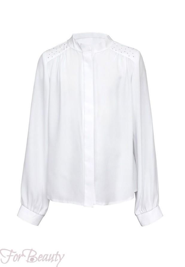 Школьные блузки для девочек 2018 2019