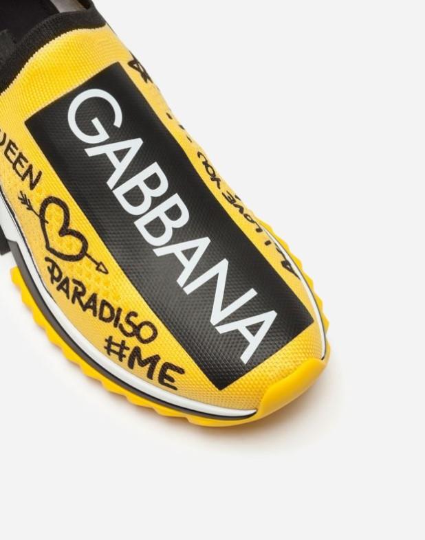 Стильные желтые GABBANA