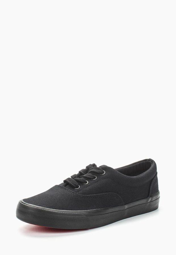 Черные женские кроссовки 2018-2019