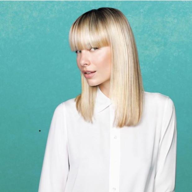 женские стрижки 2018-2019 на средние волосы за 30 с челкой