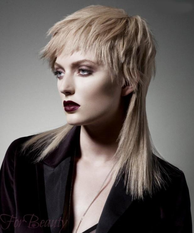 Стрижка аврора модная в 2018 году фото на средние волосы блонд
