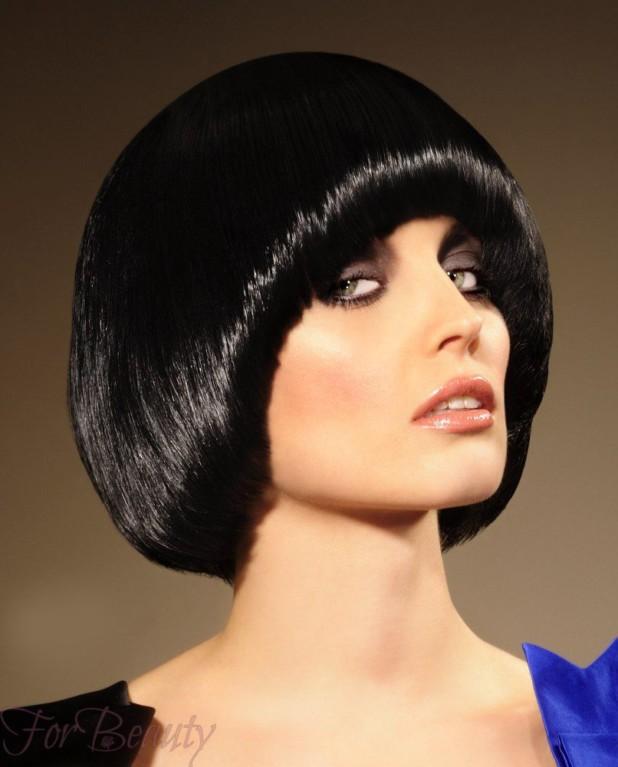 Стрижка паж модная в 2018 году фото на средние волосы