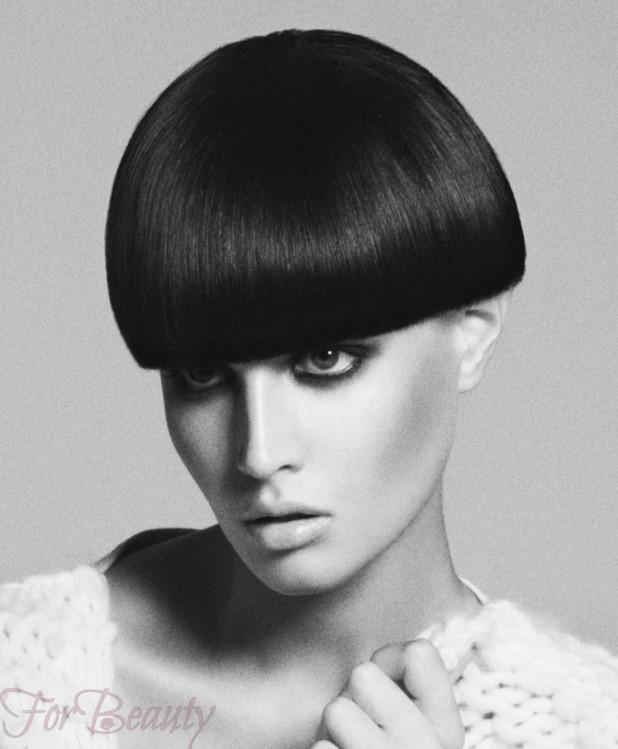 Стрижка паж стильная в 2018 году фото на средние волосы