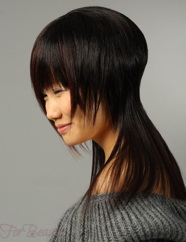 Стрижка аврора стильная в 2018 году фото на средние волосы
