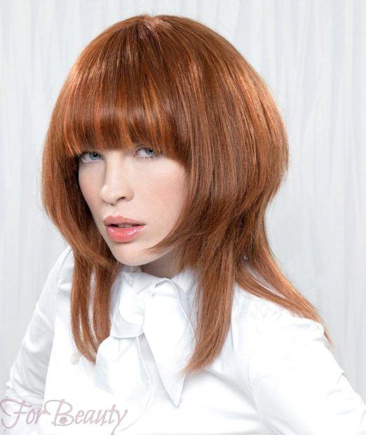 стрижки на средние волосы 2018 2019: аврора