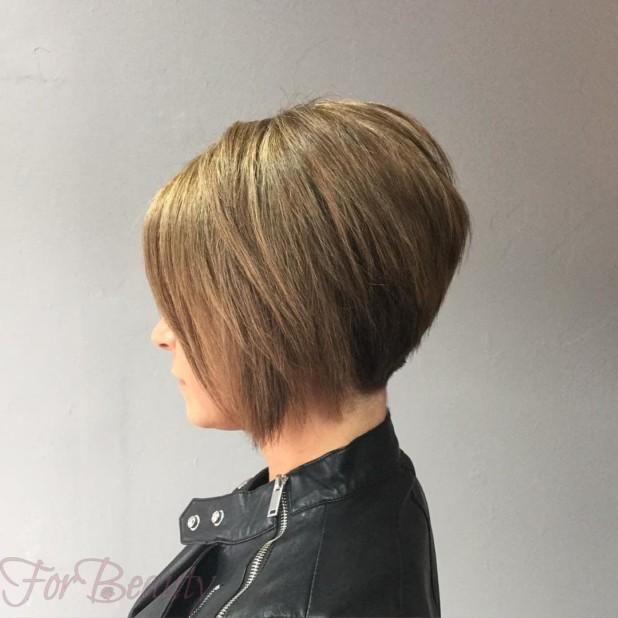 стрижка «боб» на средние волосы в 2018 году