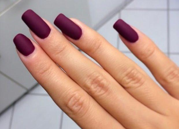 матовый фиолетовый