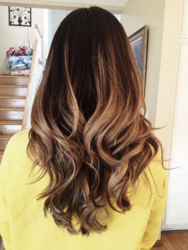 Модное окрашивание волос 2018-2019 фото: красивое балаяж