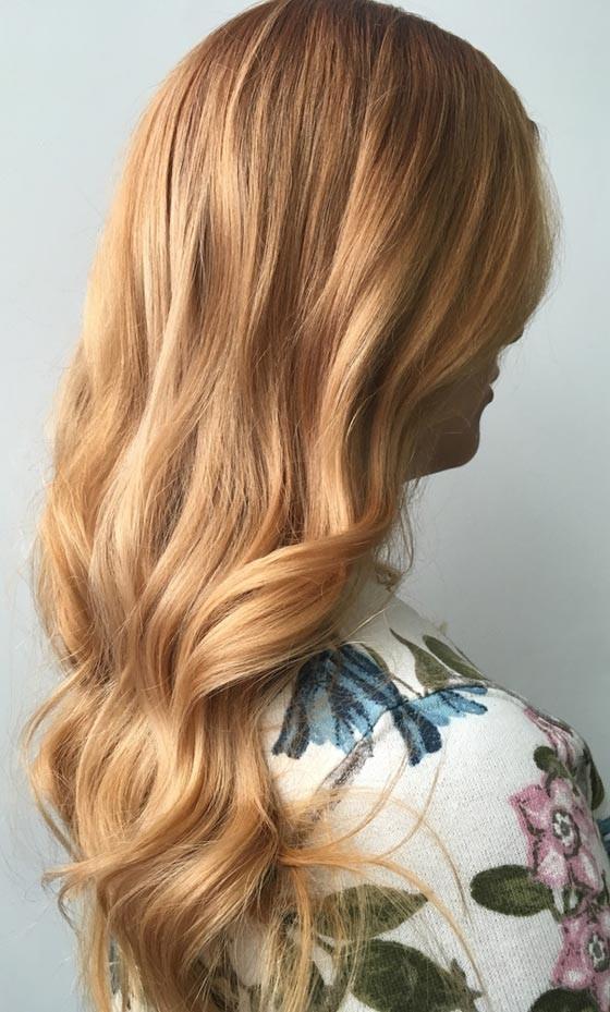 Модное окрашивание волос шатуш 2018 фото на длинные волосы