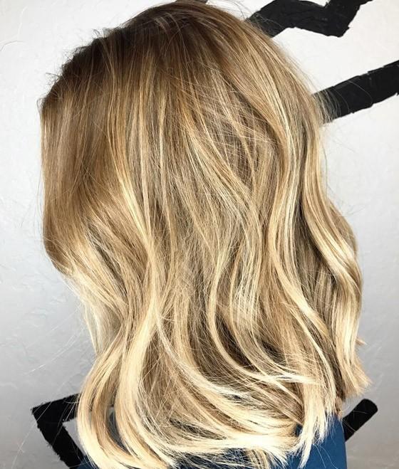 окрашивание волос шатуш 2018 фото