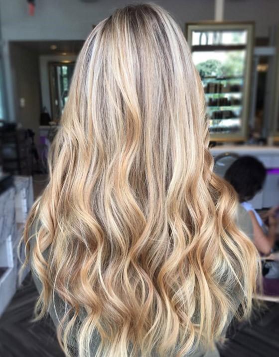 красивое окрашивание волос шатуш 2018 фото