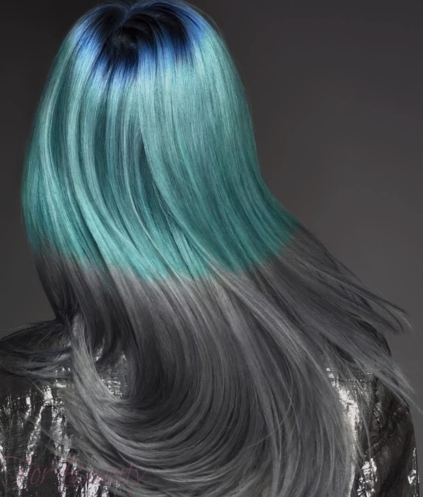 стильное окрашивание волосколорирование2018 фото
