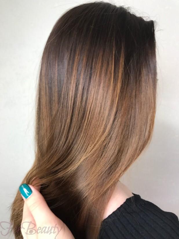 окрашивание волос«балаяж»2018 года