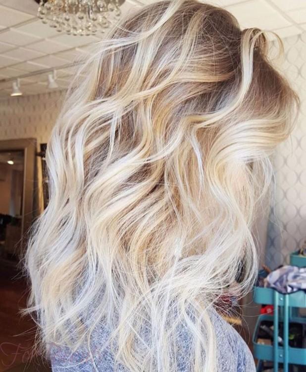 красивое окрашивание волосбалаяж2018 фото