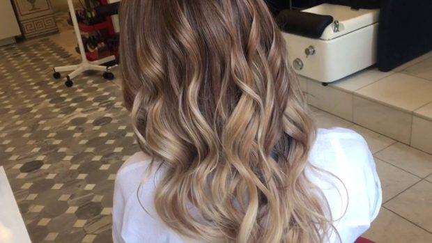 красивое окрашивание волосбалаяж2018-2019 фото