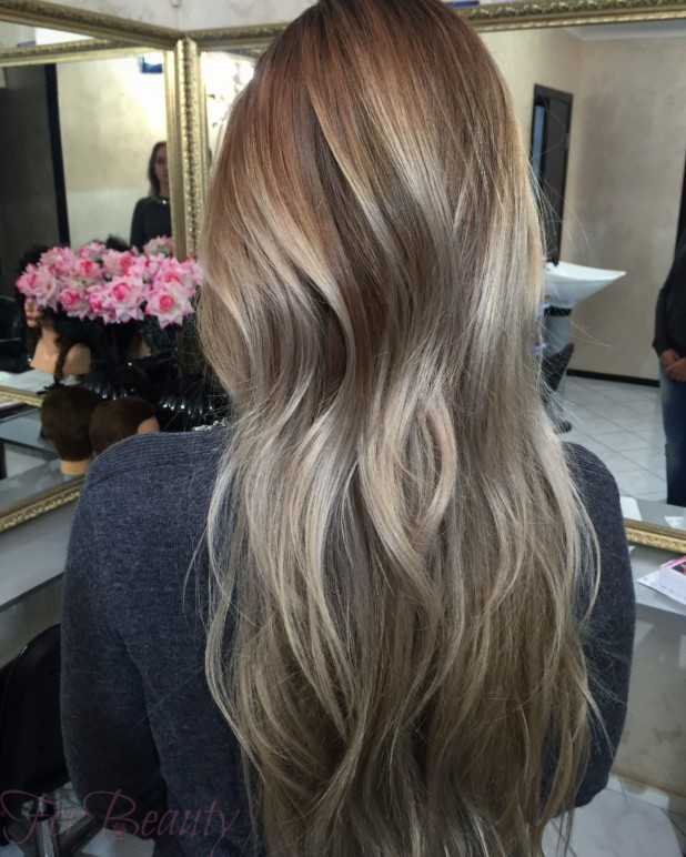окрашивание волос «шатуш» 2018 года