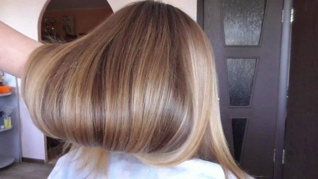 окрашивание волос«брондирование»
