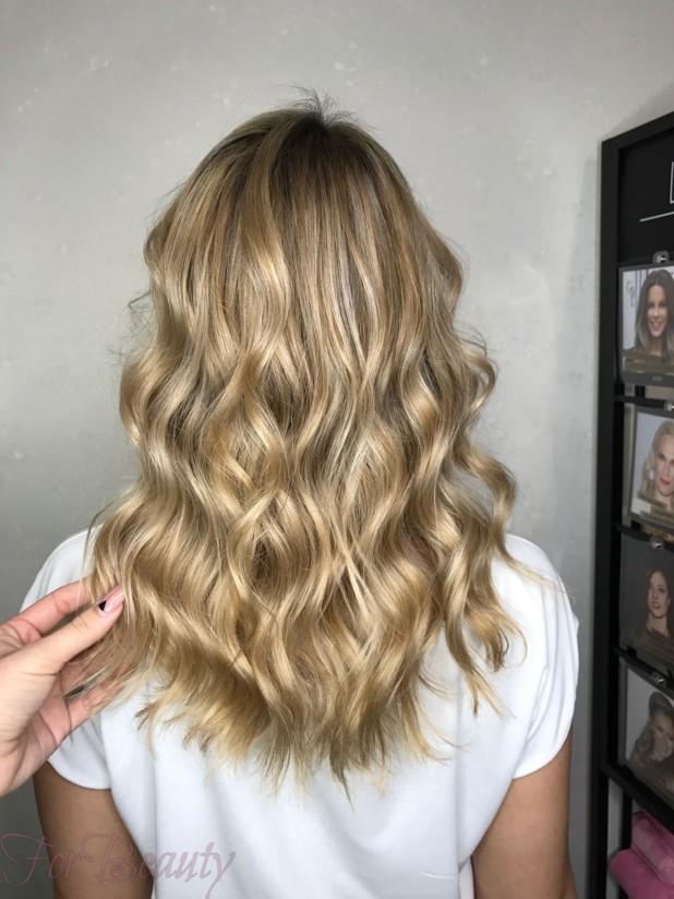 окрашивание волос«брондирование»2018 года
