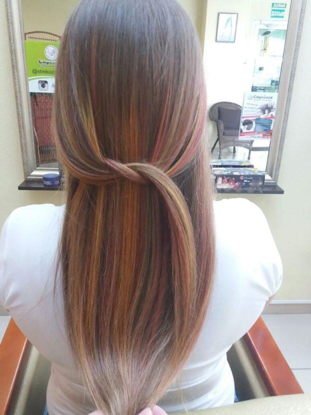 окрашивание волос:колорирование