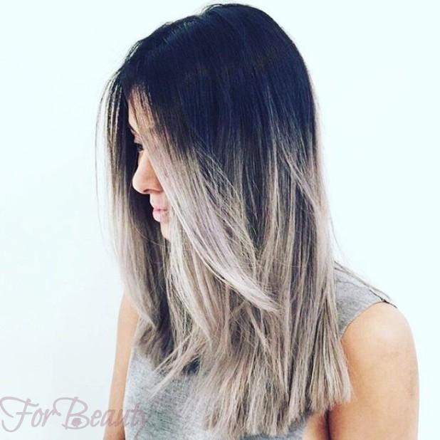 окрашивание волос«омбре»2018 года