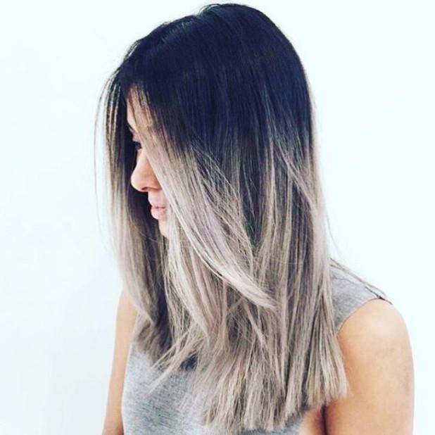 окрашивание волос«омбре»2018-2019 года