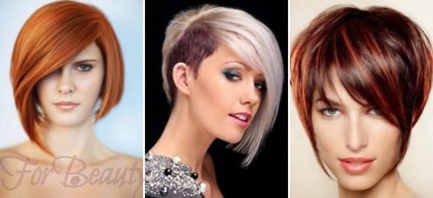 Стрижкасессон2017 на короткие волосы фото для женщин за 40 с челкой