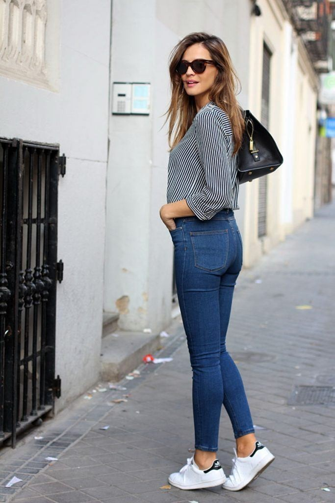 Узкие джинсы — скинни