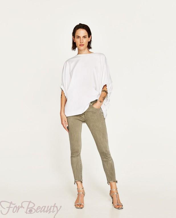 Модные серые джинсы 2018 женские