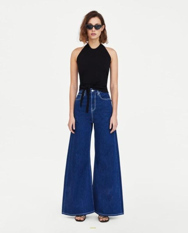 женские джинсы: клеш