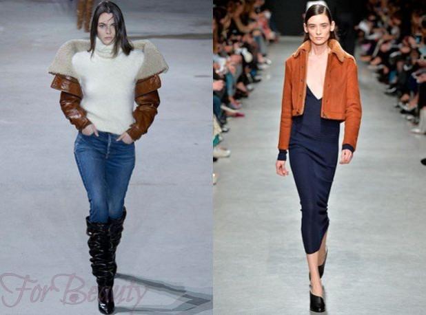 Модные женские кожаные куртки зима 2018 2019
