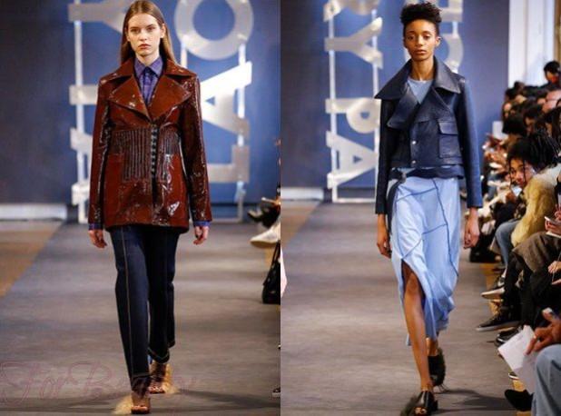 стильные женские кожаные куртки осень зима 2018 2019