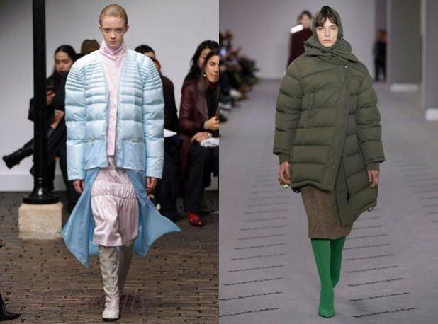 куртки пуховики осень зима 2018 2019 фото