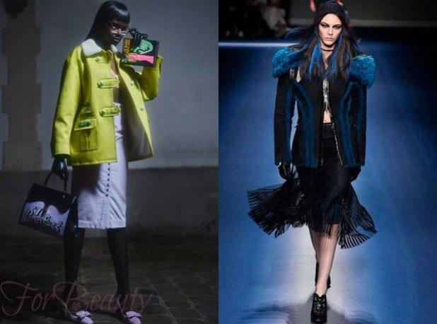 стильные женские куртки с мехом 2018 2019 фото