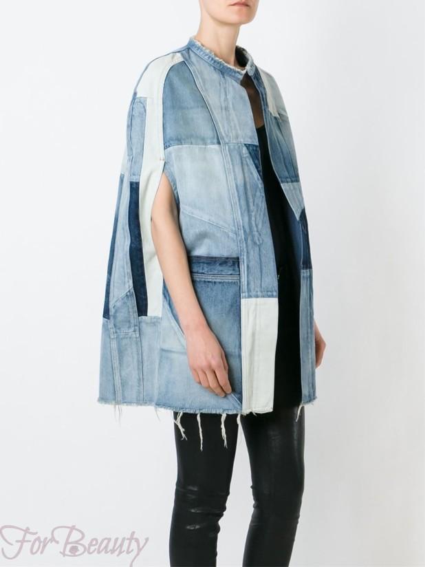 стильные женские джинсовые куртки осень-зима 2018 2019