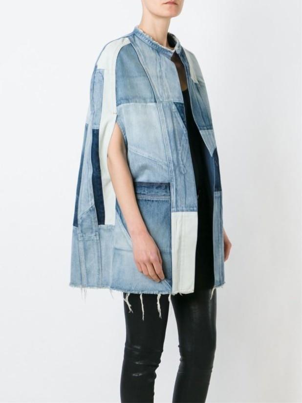 куртки осень 2018 2019 женские: джинсовая без рукавов