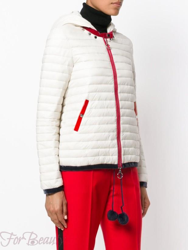 Модные спортивные женские куртки с капюшоном осень зима 2018 2019