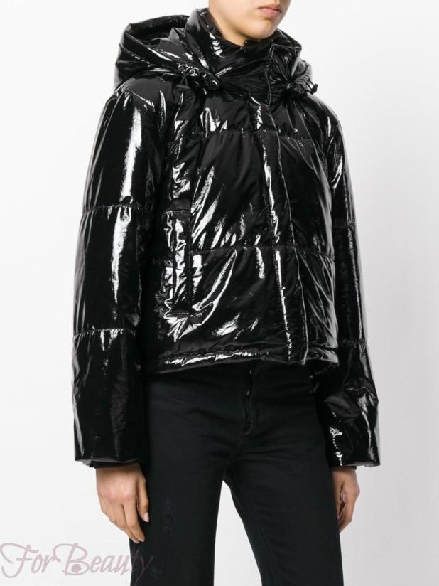 Модные стеганные женские куртки с капюшоном осень зима 2018 2019