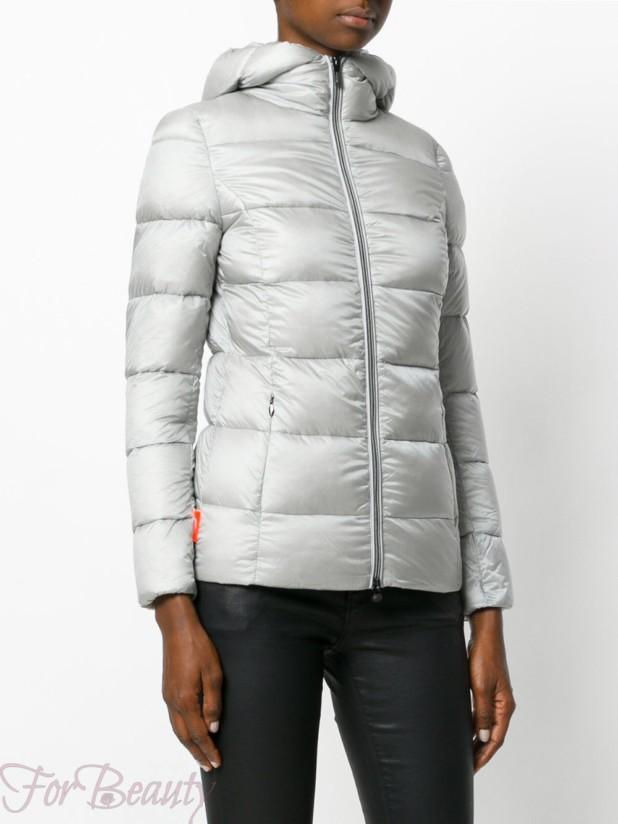 женские стеганые куртки с капюшоном осень-зима 2018 2019