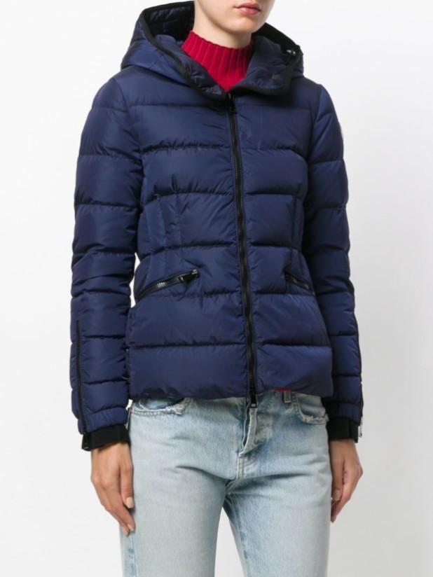 стильные женские стеганые куртки с капюшоном осень-зима 2018 2019