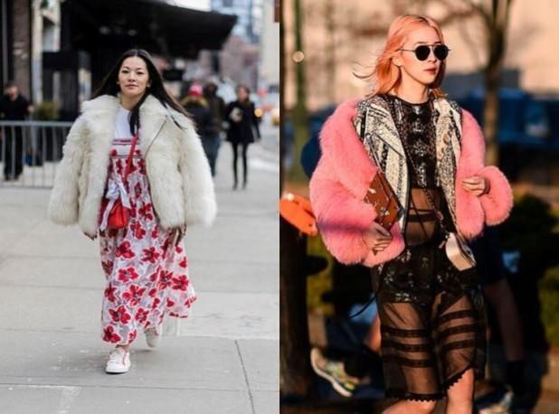 женские куртки с мехом 2018 2019