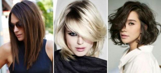 Модные прически каре 2018 женские на средние волосы фото