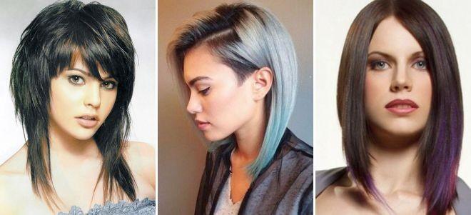 Модные прически 2018 женские на средние волосы фото