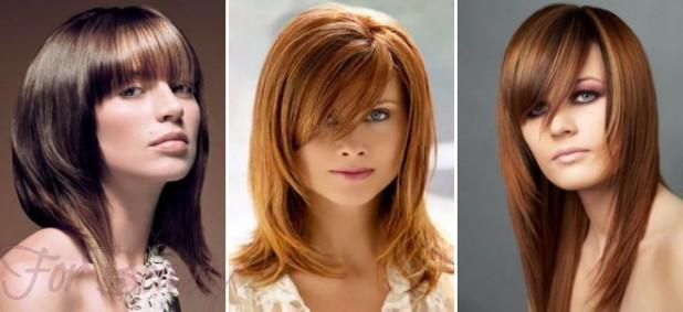 Модные прически каскад и лесенка 2018 женские на средние волосы фото
