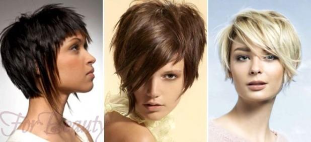 стрижки на короткие волосы для женщин за 30: фото классические асимметричные